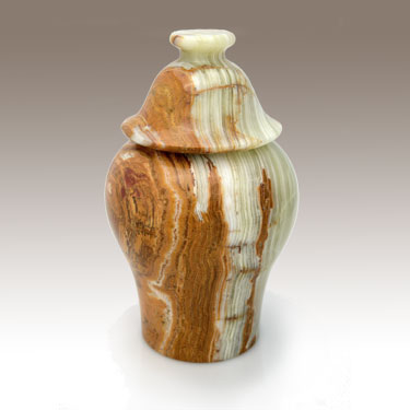Polished Stoneware Urn