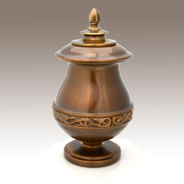 Copper Color Urn