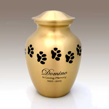 Gold Color Urn